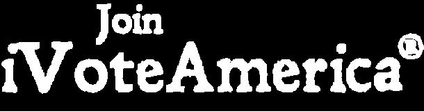 iVoteAmerica White Join Logo